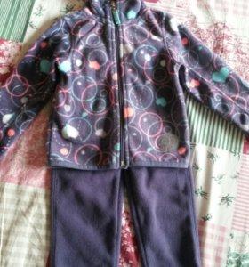 Флисовый костюм Coolclub 98 на 92
