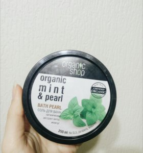 Organic planet соль для ванный мятный чай