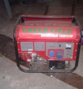 Генератор бензиновый 6кв