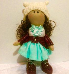 Кукла-малышка ручной работы