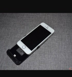 Чехол зарядка для iPhone 5-5s
