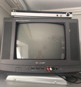 Телевизор + плеер