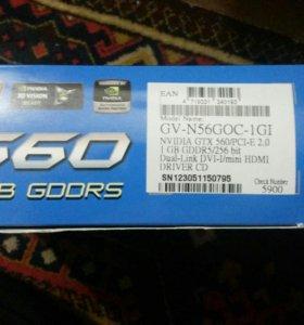 Видеокарта Gtx560ti