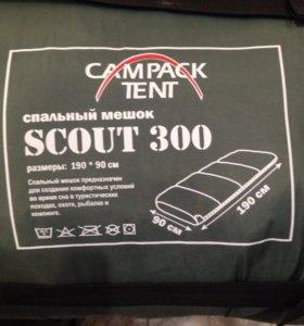 Спальный мешок Scout 300. Новый.