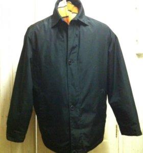 Мужская куртка с подстежкой размер 56