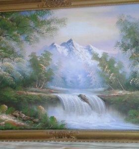 Картина маслом 130х70