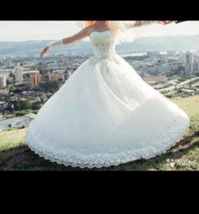 Свадебное платье размер 42-46, цвет Ivory (Айвори)