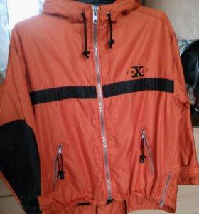 Экстримальная спортивная куртка