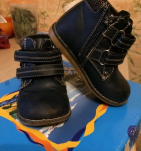 Демисезонные ботинки размер 24