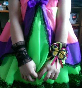 Красивое Платье -костюм бабочка
