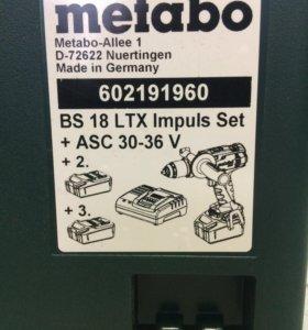 Metabo BS 18 ltx impuls.