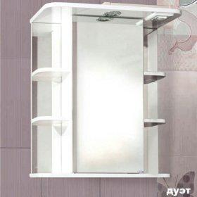 Шкаф для ванной с подсветкой Duet