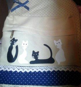 Рюкзак школьный облегченный новый