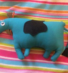 Корова игрушка handmade