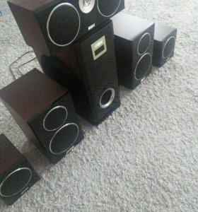 Стерео система BBK 5/1, торг