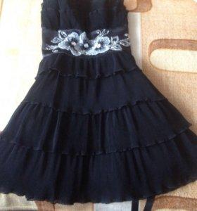 Платье с карсетом