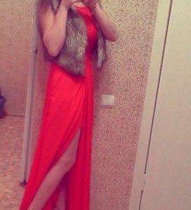 Вечернее платье ЕВОНА)