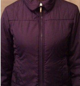 Фиолетовая куртка весна/осень