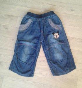 Бриджи, джинсы