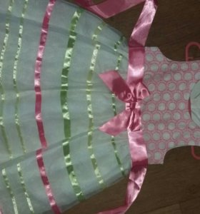 Платье на девочку 3-4 года б/у 1 раз