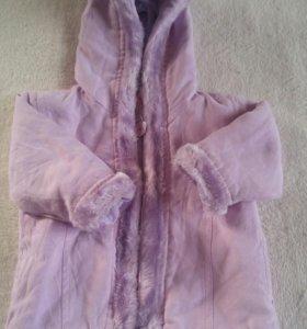 Куртка на девочку 6 месяцев