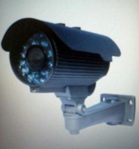 Уличная AHD камера видеонаблдения fdR