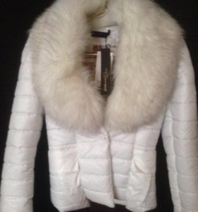 Куртка новая ,с мехом