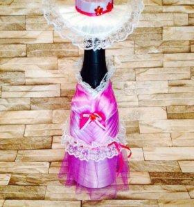 Декор бутылочки