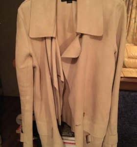 Замшевая куртка.