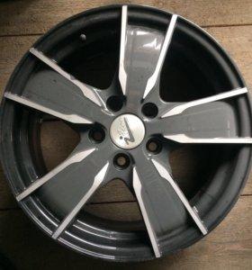 Диски литые (Шкода VW) R16 Мохито кс555 блэк джек