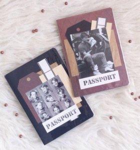 Обложки на паспорт ручной работы 89533890368