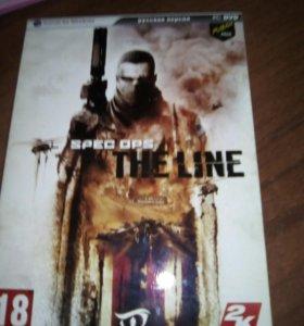 Игровой диск Spec ops The line