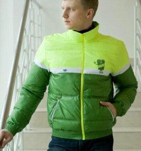 Куртка-пуховик адидас оригинал