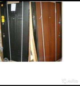 Остатки входных металлических дверей