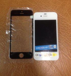 Экраны и стекла iPhone 5,5s,5c,4,4s,6,6s,6+
