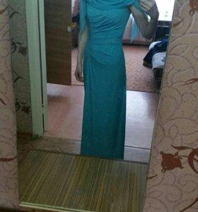 Вечернее платье длинное размер S