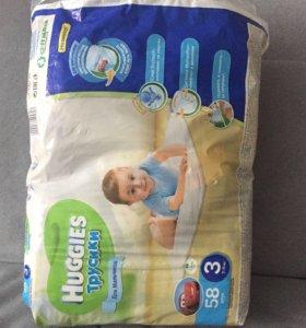 подгузники huggies трусики 7-11