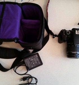 Фотоаппарат (зеркальная камера) canon EOS-650D KIT