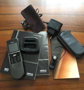 Телефон Nokia8800 sirocco edition