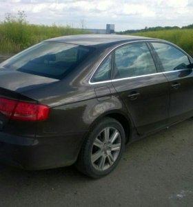 Прокат Audi a4 с водителем