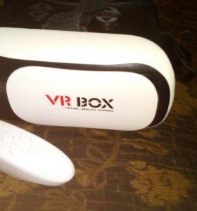 VR BOX 2.0 c пультом новый+2 новых CD