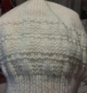 Зимняя шапка новая с блестками