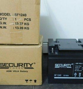 Аккумуляторная батарея security force SF1240