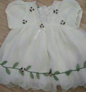 Платье с трусиками под памперс,новое