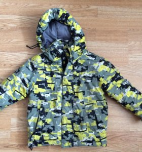 Куртка зимняя на мальчика бу
