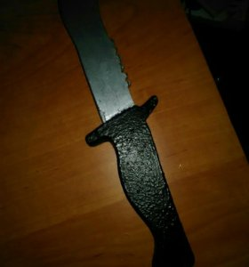 Нож из фанеры Bowie
