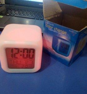 Часы/ночник