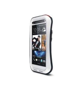 Для HTC M7 - love Mei защитный чехол