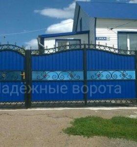 Кованые ворот 3400х1600