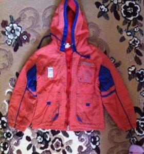 Куртка на мальчика 4-6 лет
